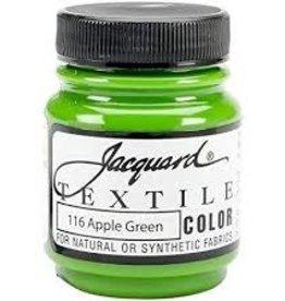 Jacquard Textile Color Apple Green