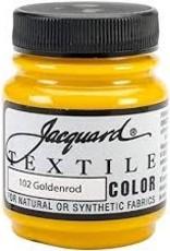 Jacquard Textile Color Goldenrod