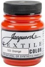 Jacquard Textile Color Orange