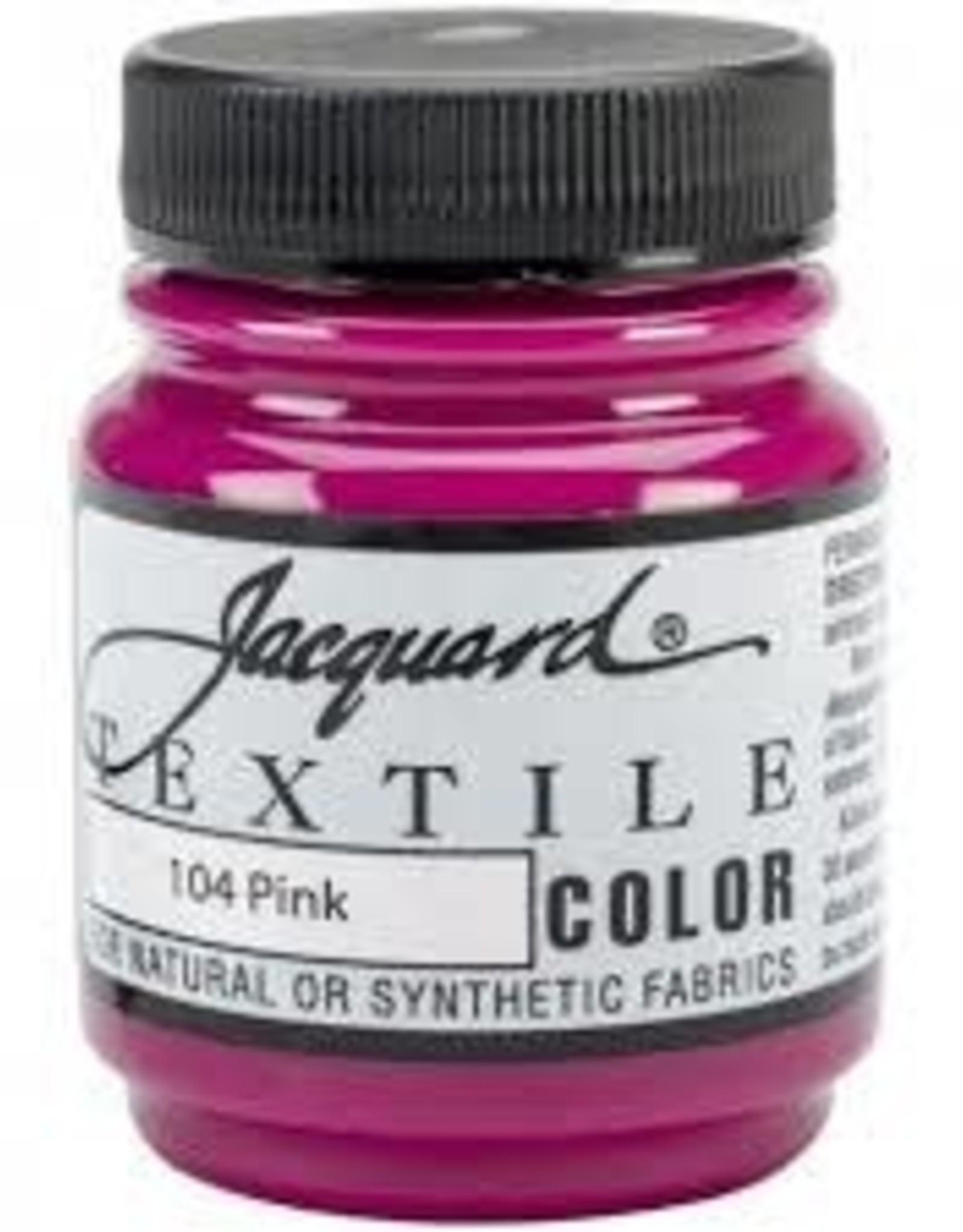 Jacquard Textile Color Pink