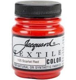 Jacquard Textile Color Scarlet Red