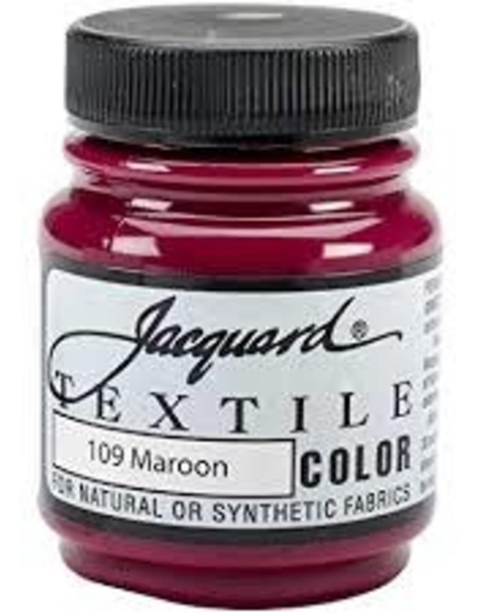 Jacquard Textile Color Maroon