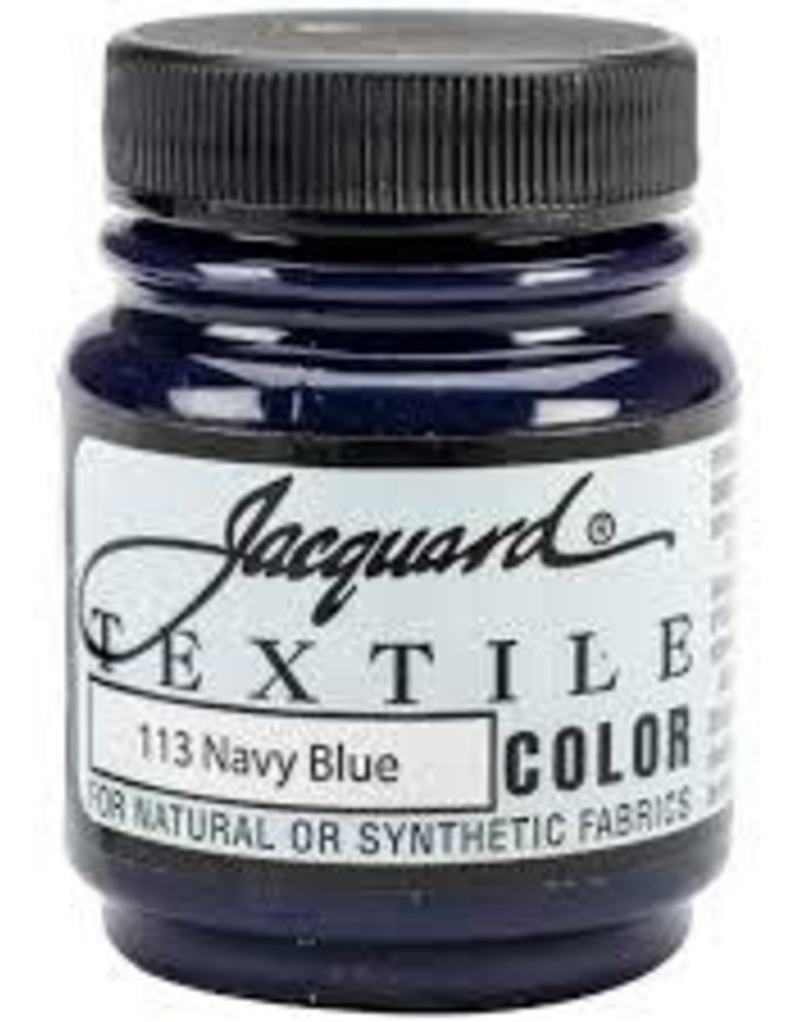 Jacquard Textile Color Navy Blue