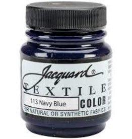 Jacquard Textile Color Navy