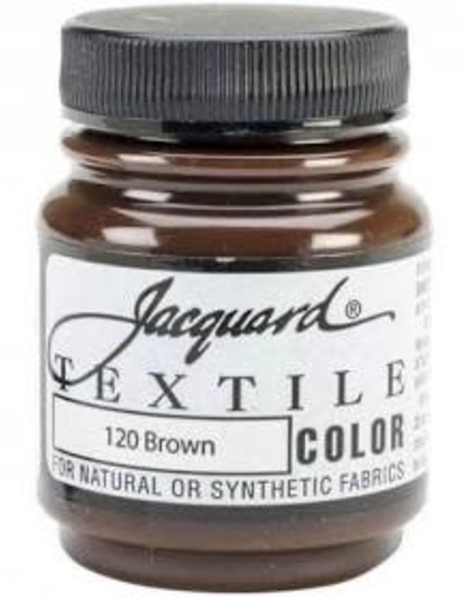 Jacquard Textile Color Brown