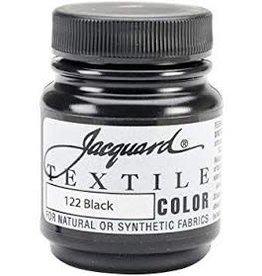Jacquard Textile Color Black
