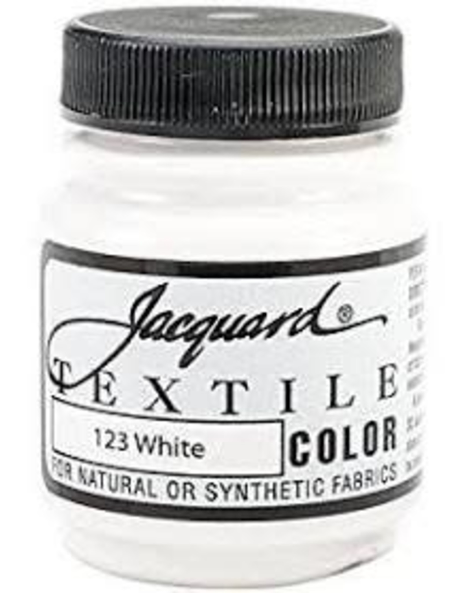 Jacquard Textile Color White