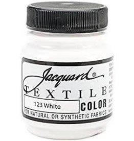Jacquard Textile Color White