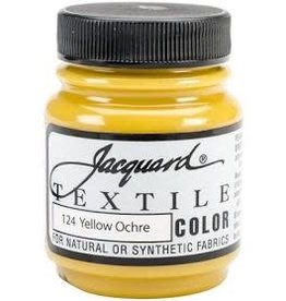 Jacquard Textile Color Yellow Ochre