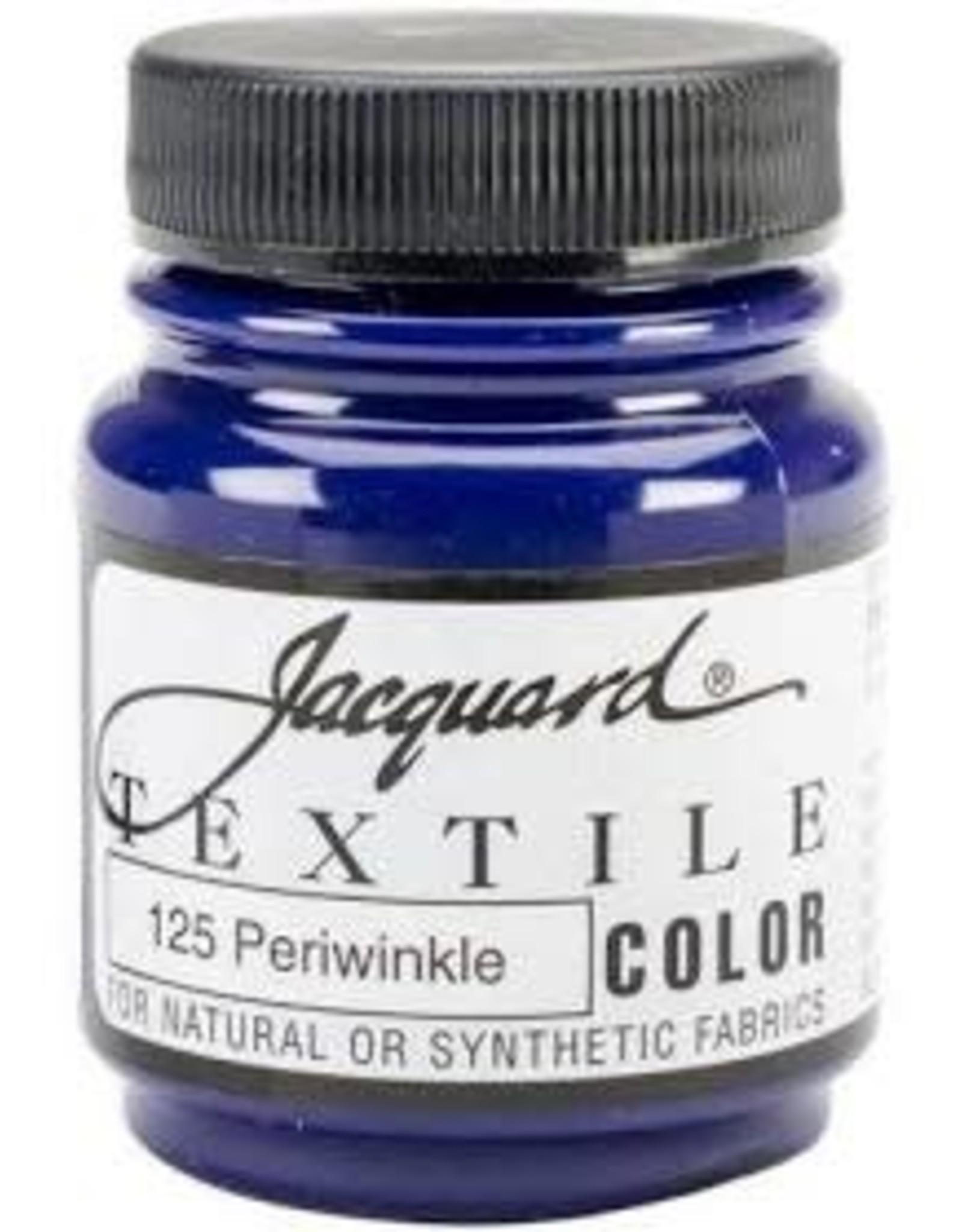 Jacquard Textile Color Periwinkle