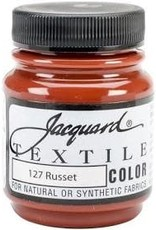 Jacquard Textile Color Russet
