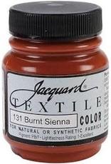 Jacquard Textile Color Burnt Sienna