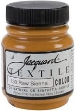 Jacquard Textile Color Raw Sienna