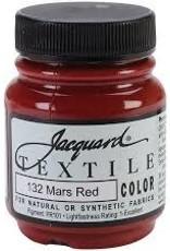 Jacquard Textile Color Mars Red