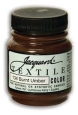 Jacquard Textile Color Burnt Umber