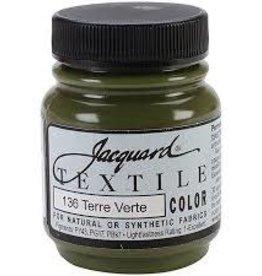 Jacquard Textile Color Terre Verte