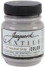 Jacquard Textile Color Neutral Grey