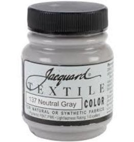Jacquard Textile Color Neutral Grey