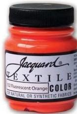 Jacquard Textile Color Fluorescent Orange