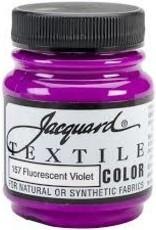Jacquard Textile Color Fluorescent Violet