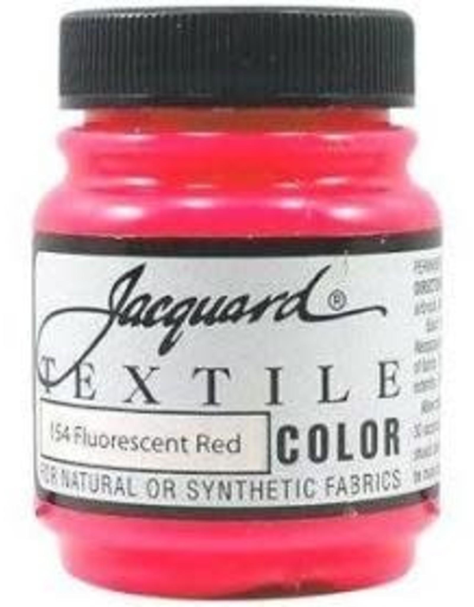 Jacquard Textile Color Fluorescent Red