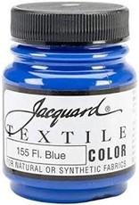 Jacquard Textile Color Fuorescent Blue