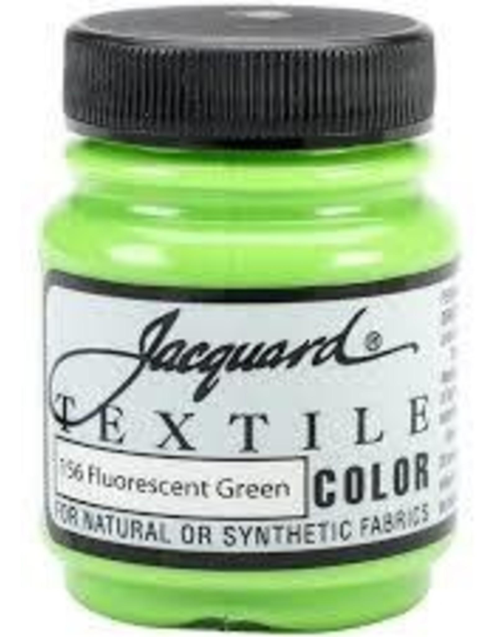 Jacquard Textile Color Fluorescent Green