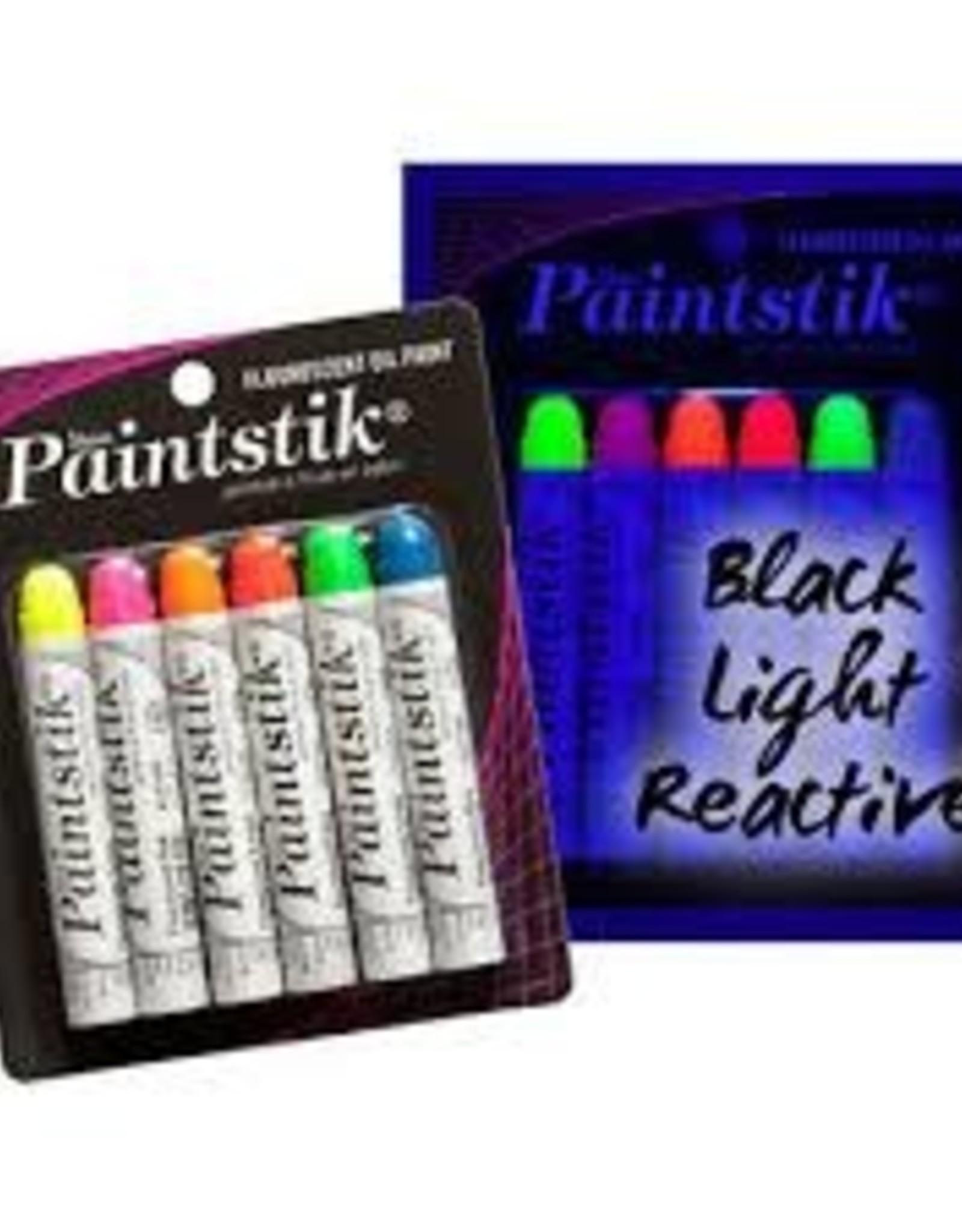 Paintstik Mat Set 6 Fluoriserend