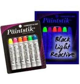 Paint Stik Mat Set 6 Fluoriserend