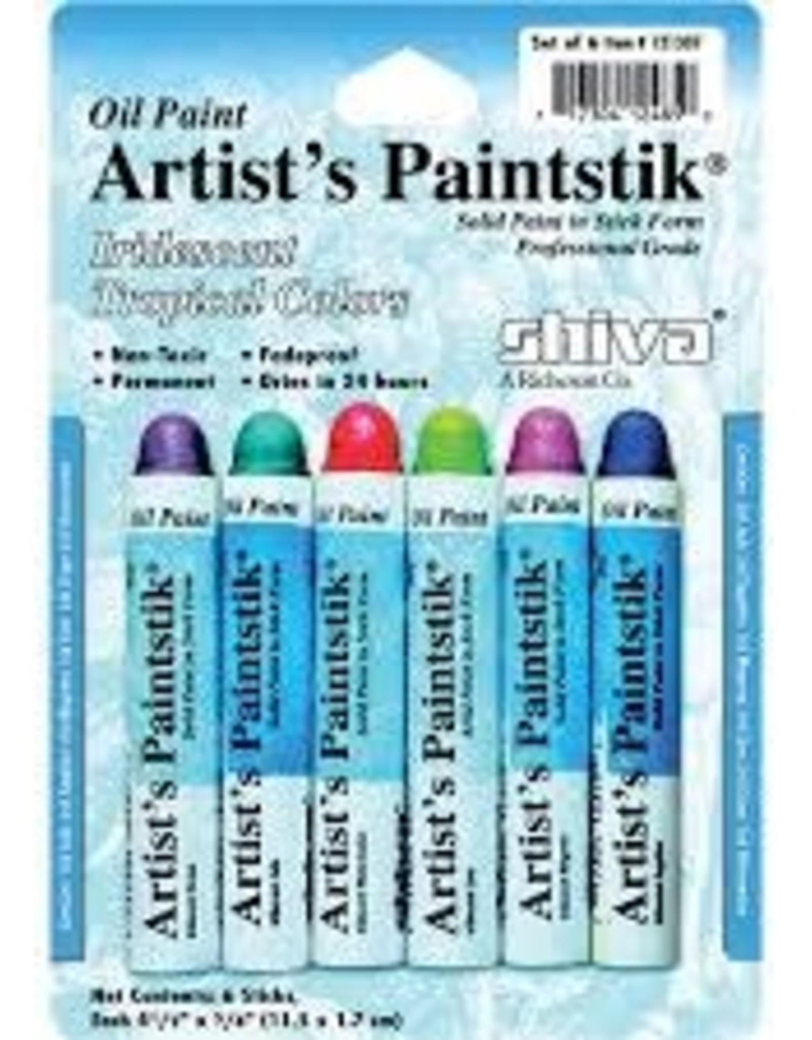 Paintstik Metallic Set 6 Tropical