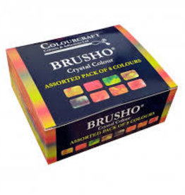 Brusho set van 8