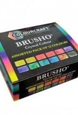 Brusho set van 12
