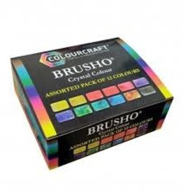 Brusho set van 12