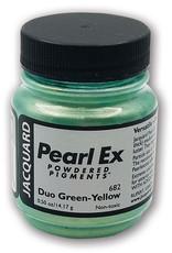 Jacquard Pearl Ex Duo Green Yellow