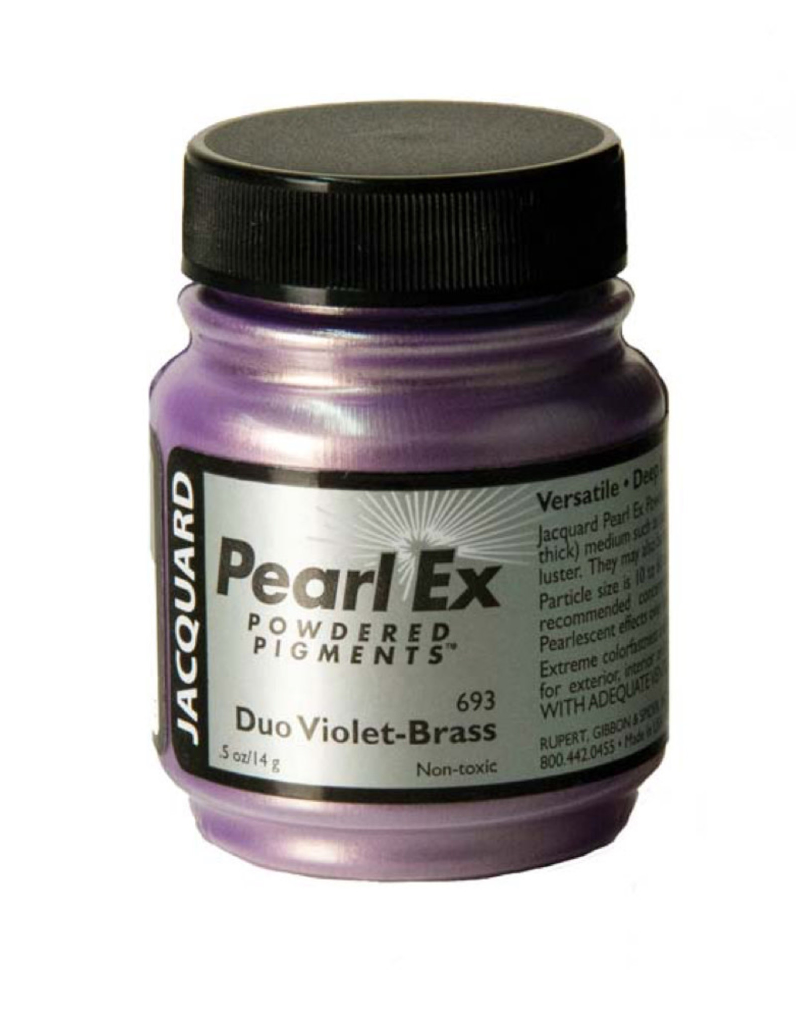 Jacquard Pearl Ex Duo Violet Brass