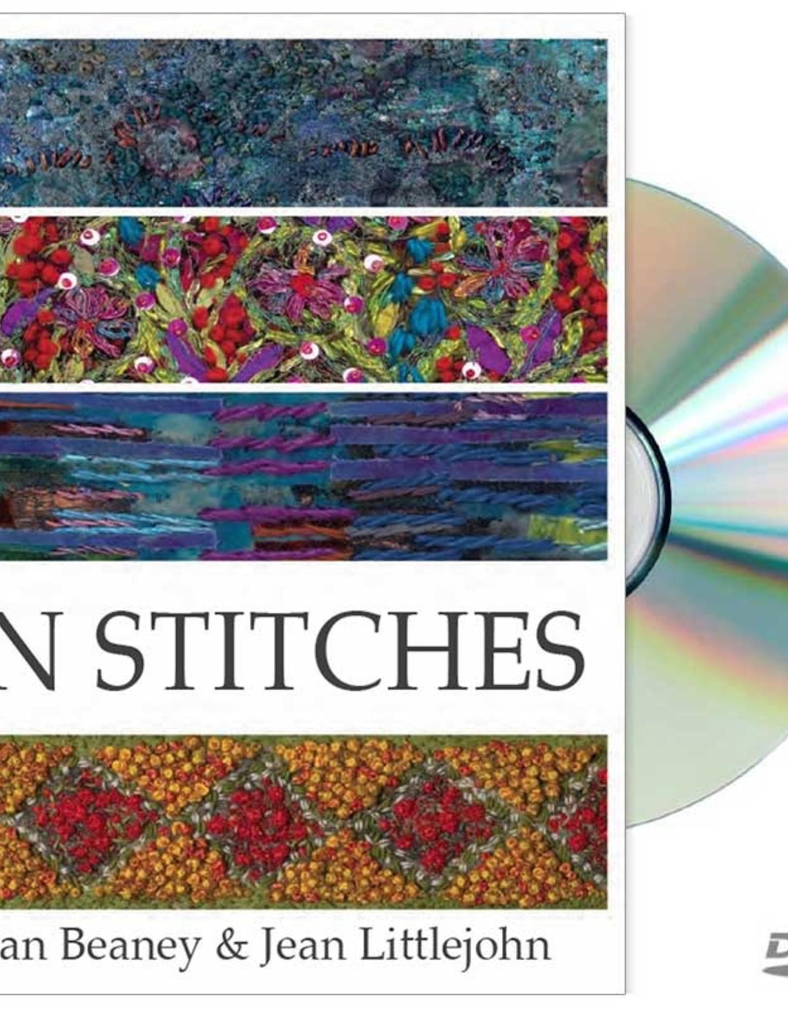 DVD In Stitches / Jan Beaney & Jean Littlejohn