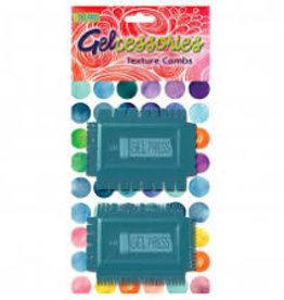 Texture Combs voor Gelli Plate