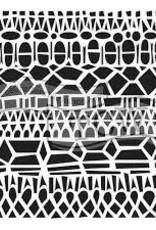 Stencil Modern Lace