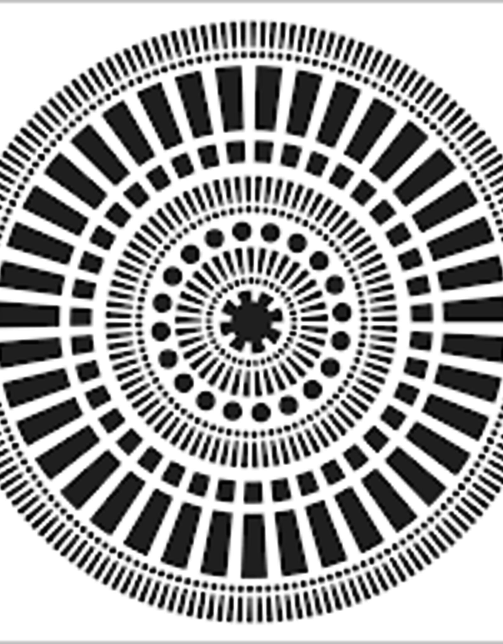 Stencil Mayan Calendar
