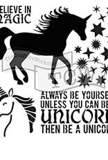 Stencil Unicorn