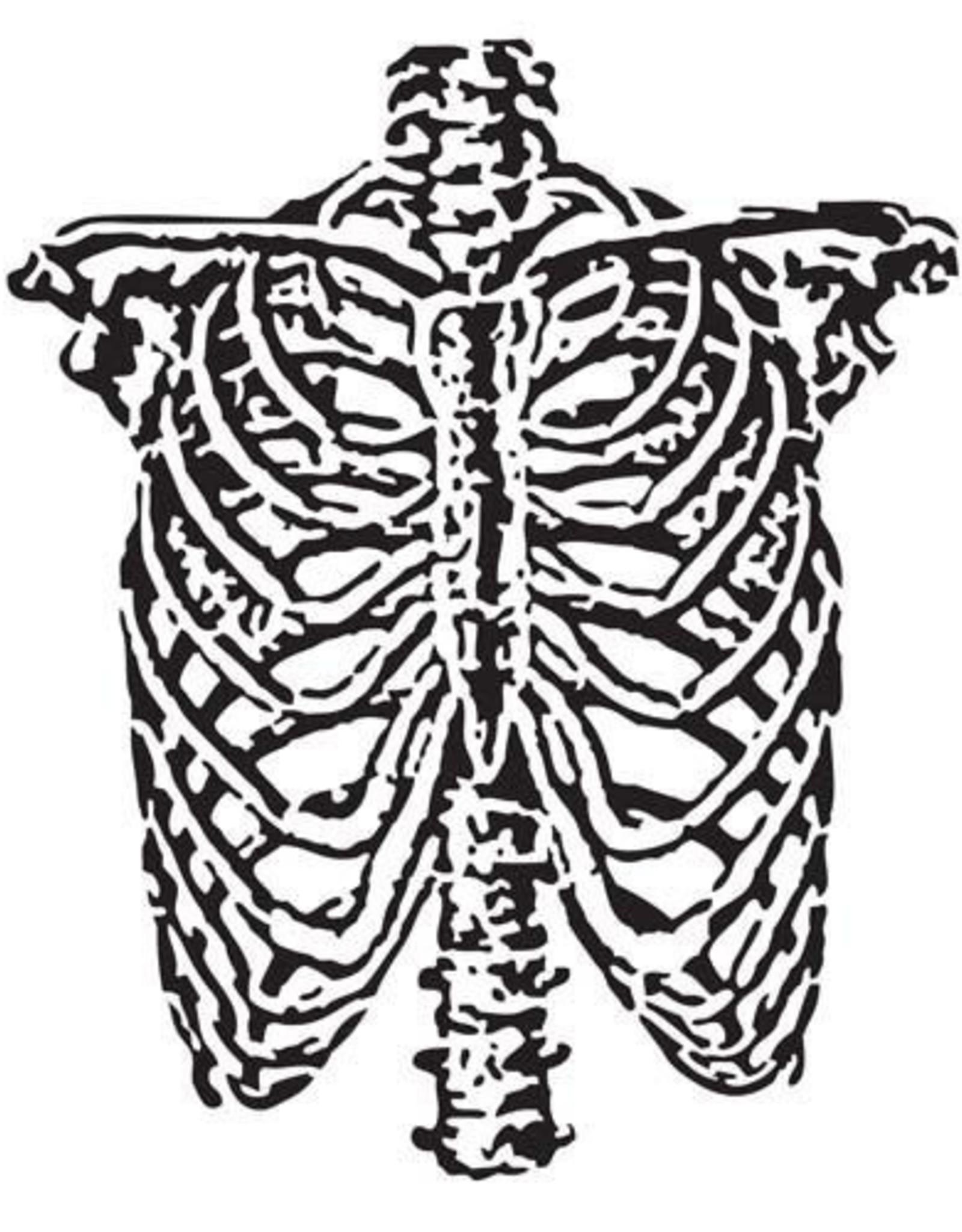 Stencil Ribcage