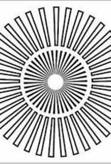 Stencil Sunburst