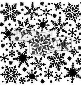 Stencil Snowflakes