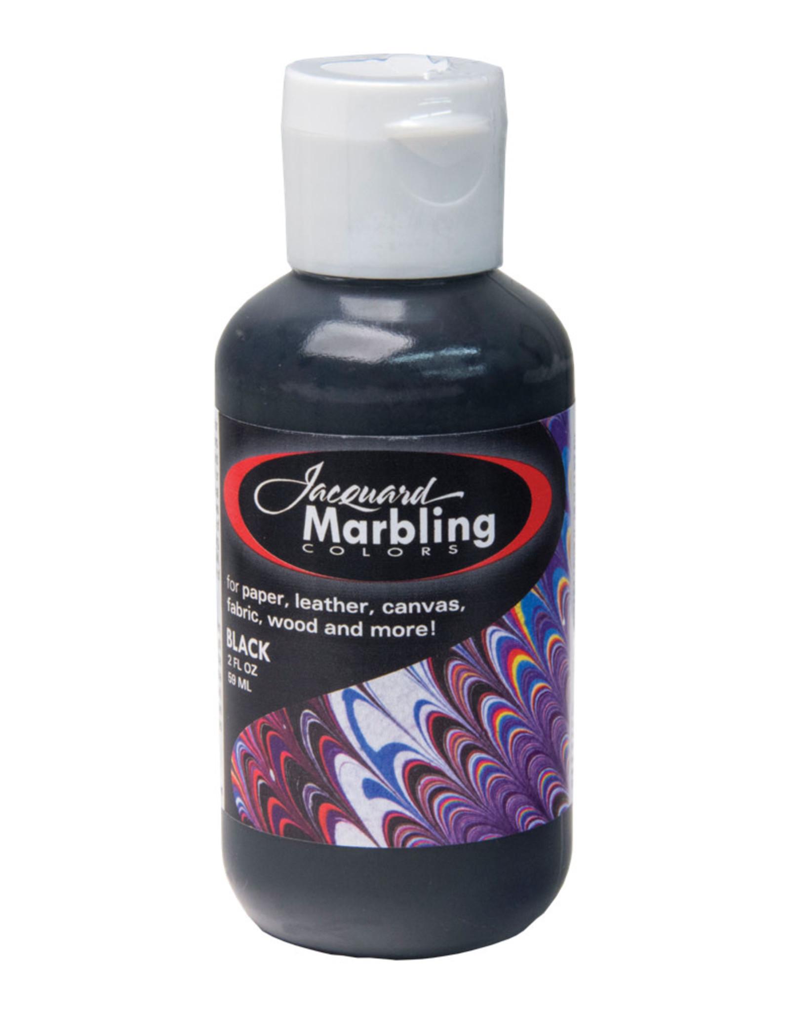 Jacquard Marbling Color Black