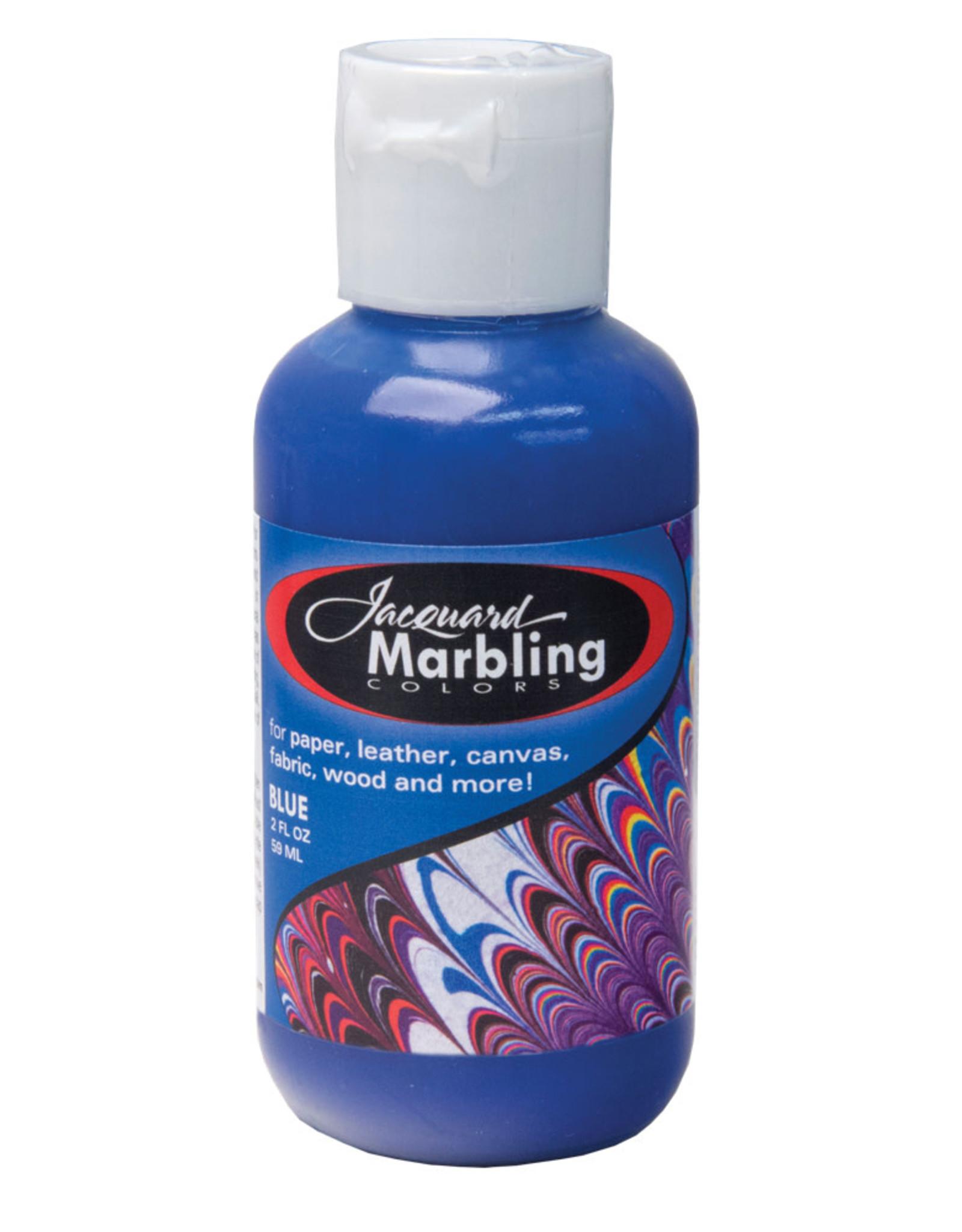 Jacquard Marbling Color Blue