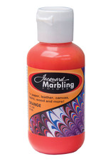 Jacquard Marbling Color Orange