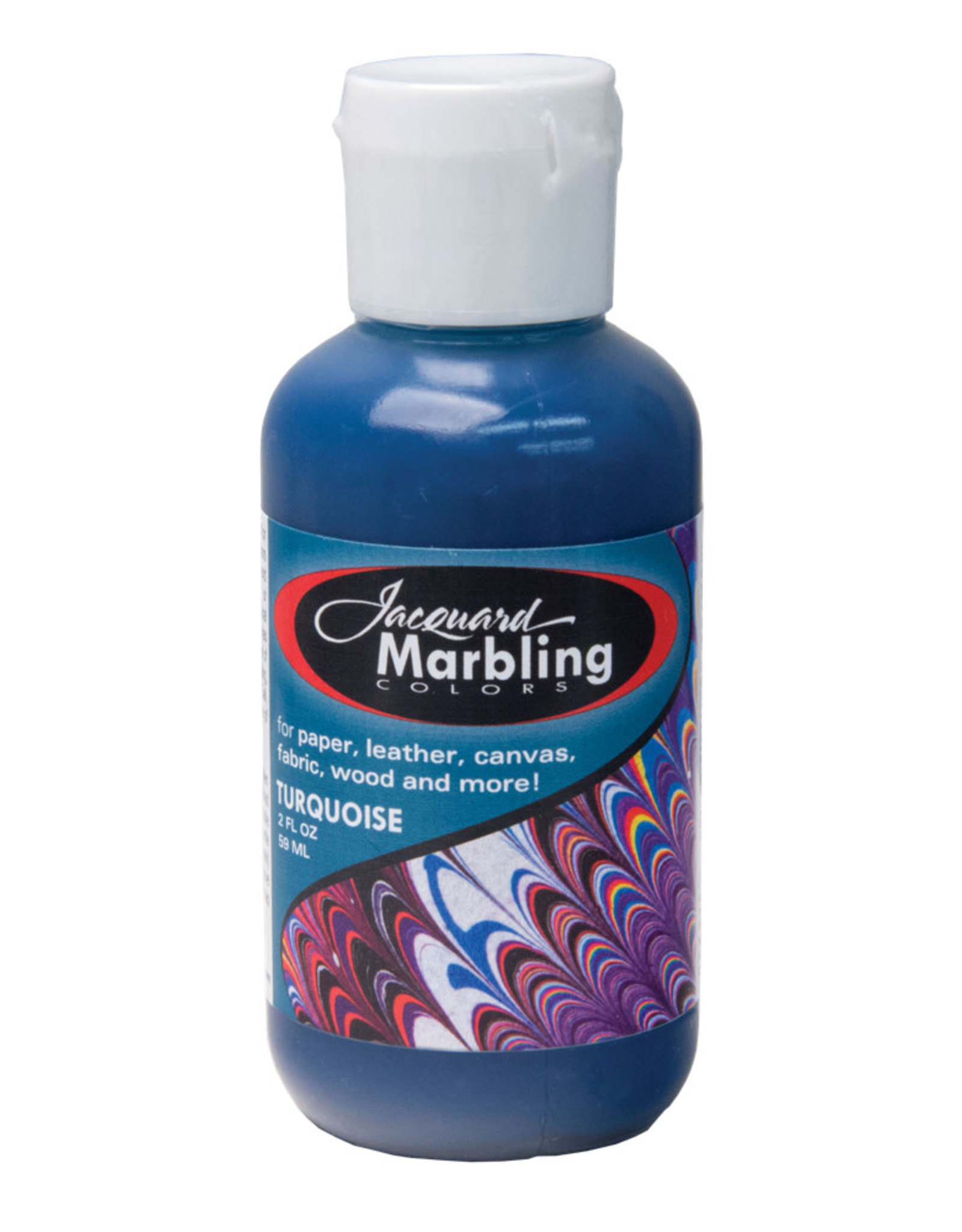 Jacquard Marbling Color Turquoise