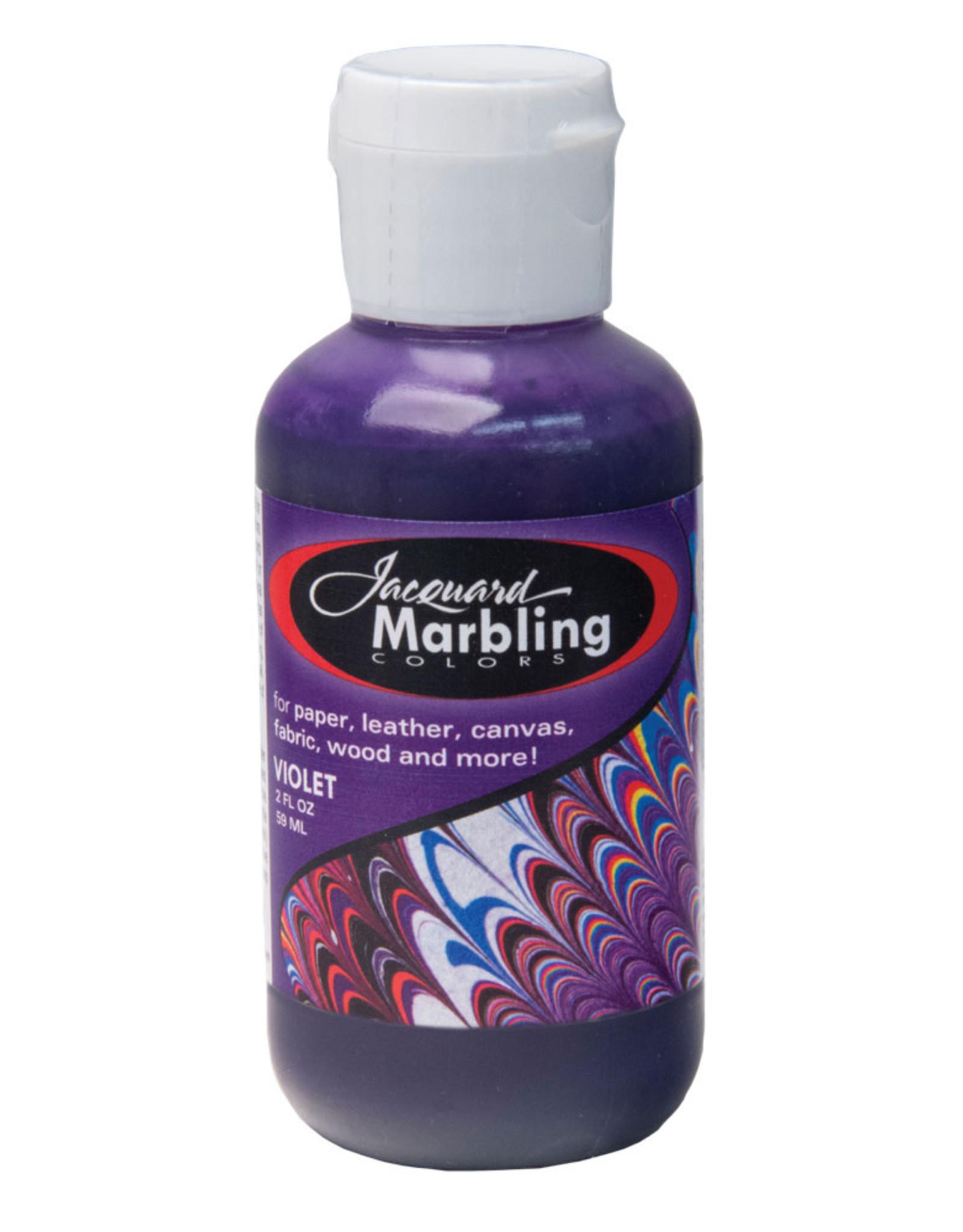 Marbling Color Violet