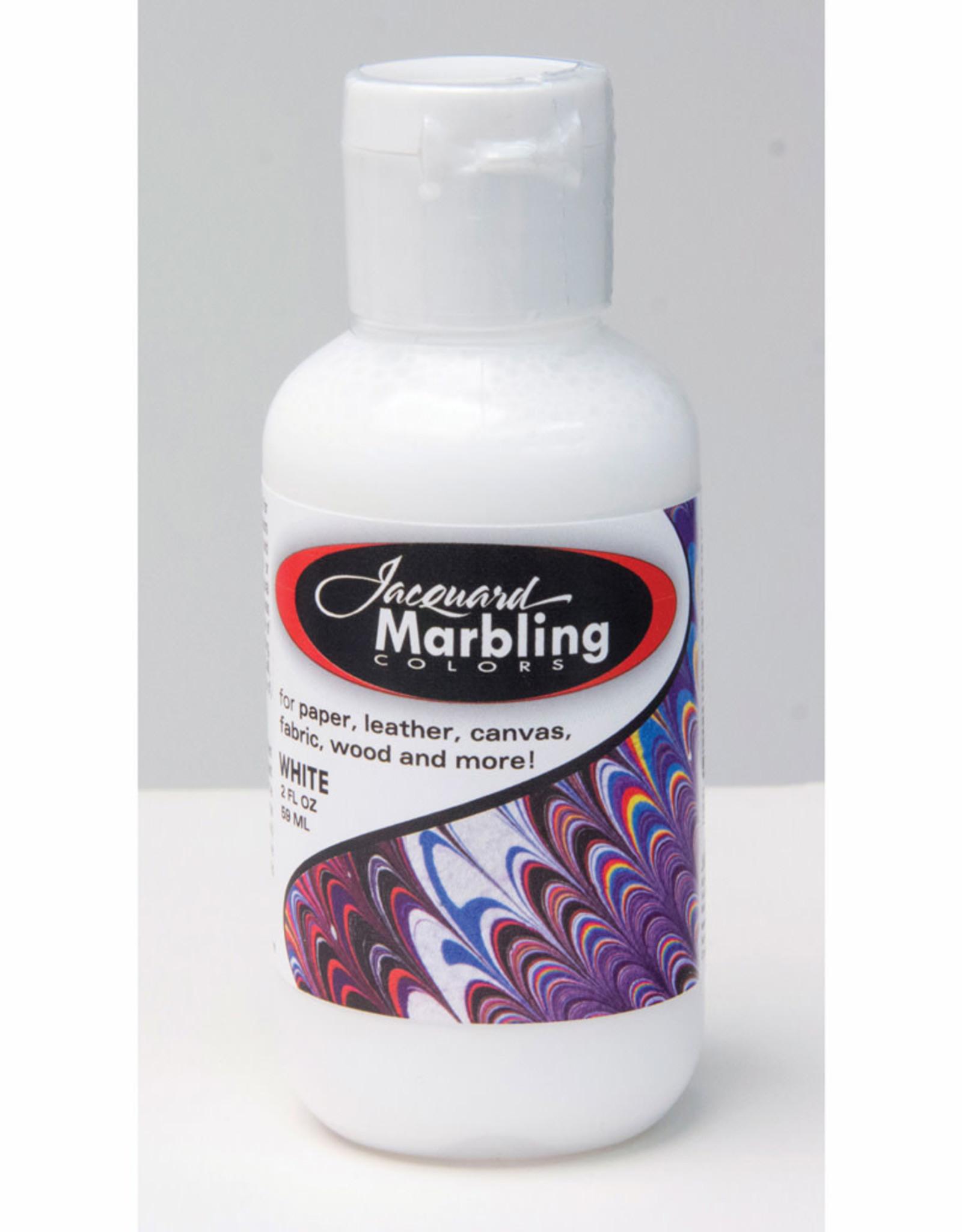 Jacquard Marbling Color White