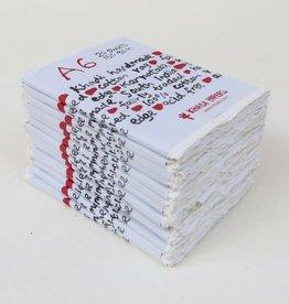 Katoen Papier A6 20 vellen